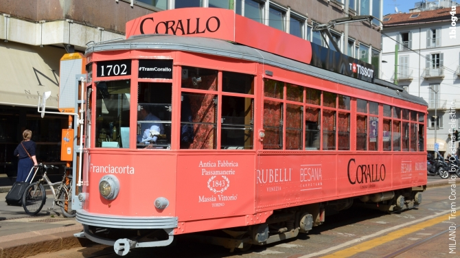 Tram Corallo - Milano Design Week 2018 - Gabriella Ruggieri & partners